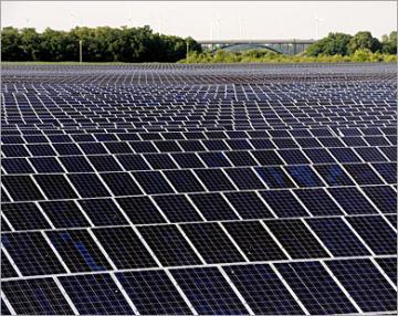 جوجل تستثمر في الطاقة الشمسية