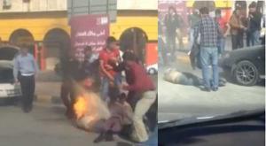 الأردن : شاب يحرق نفسه احتجاجاً على مخالفة مرورية