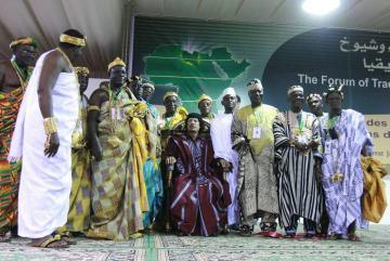 سحرة أفريقيا يحاربون مع القذافي