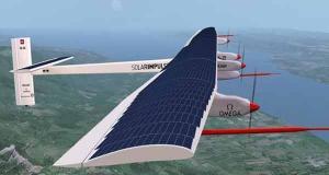 الإعداد لأول رحلة حول اﻷرض بطائرة تعمل بالطاقة الشمسية
