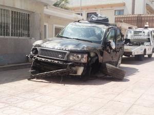 نجاة اﻷمير السعودي الوليد بن طلال من حادث سيارة