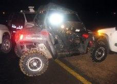 شرطة دبي توقف سيارة تستخدم وقود الطائرات وتسير بسرعة هائلة