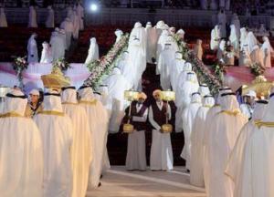 حفل زواج جماعي لـ 400 شاب وفتاة في السعودية