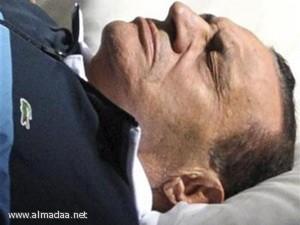 إصابة مبارك بجروح نتيجة لسقوطه في غرفته