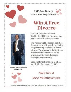 أحتفالاً بعيد الحب محامي أمريكي يعرض خدماته لإجراء الطلاق مجاناً
