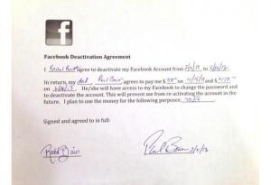 أمريكي يدفع 200 دولار لإلغاء حساب ابنته على فيسبوك