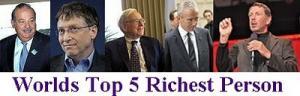 زيادة أموال أغنى أشخاص في العالم بما يزيد عن 800 مليار دولار