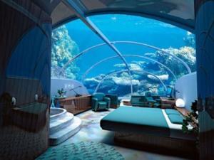 دبي تبدأ في بناء فندق تحت الماء