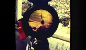 الجيش الإسرائيلي يدين قناص لنشره صورة علي الإنترنت