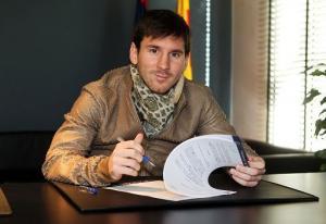 مهاجم برشلونة