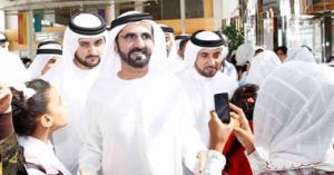 حاكم دبي: أجنبي شاهدني بلا حراسة فأعتنق الاسلام