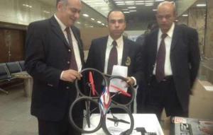 مصر : مصادرة طائرة بدون طيار عثر عليها داخل حقيبة مسافر لدواعي أمنية