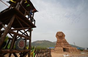 الحكومة المصرية تقاضي الصين بسبب أبو الهول الصيني