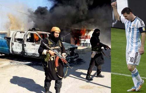 داعش تدعو نجم الكرة الأرجنتيني
