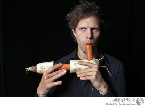 النرويج : فرقة موسيقية تستخدم الخضروات والفواكه للعزف بدلاً من الآلات