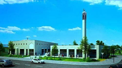 الدنمارك : إفتتاح أول مسجد بمئذنة في البلاد