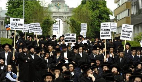 جماعات يهودية تتظاهر ضد إسرائيل في أمريكا وتدعو الله بزوالها