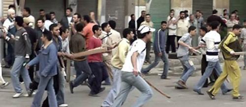 مصر :  إشتباكات بالاسلحة الآلية بسبب رغيف الخبز