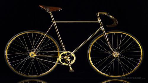 بريطانيا : عرض دراجة مصنوعة من الذهب الخالص للبيع بربع مليون جنيه إسترليني