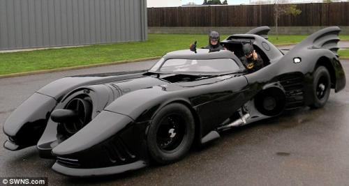 مالك سيارة باتمان يرفض بيعها بملايين الدولارات