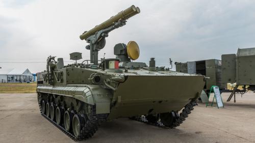 روسيا تعرض منظومة صاروخية جديدة مضادة للدبابات والسفن