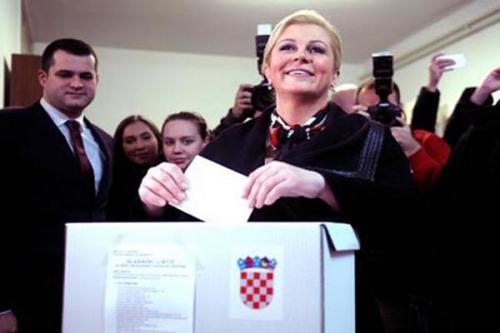 كرواتيا وصول أول سيدة في تاريخ البلاد لمنصب رئاسة الجمهورية