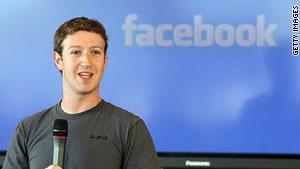 قرصان يخترق صفحة مؤسس فيسبوك