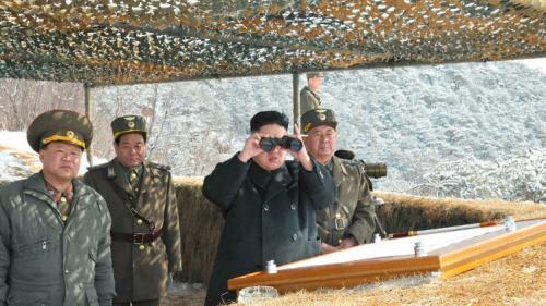 كوريا الشمالية تطلق صواريخ لأستفزاز اليابان
