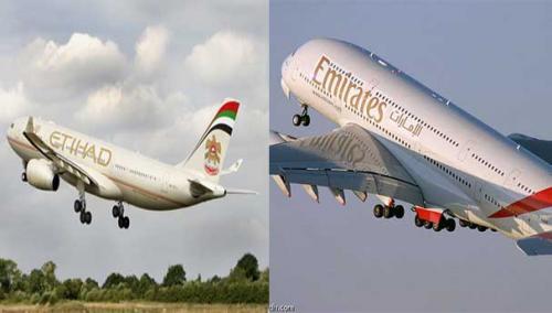الإمارات تفتح تحقيق في حادثة أقتراب طائرتين من بعضهما بصورة خطيرة