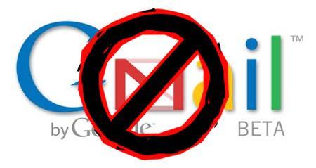 خلل يصيب حسابات مستخدمي البريد الالكتروني جيميل التابع لجوجل