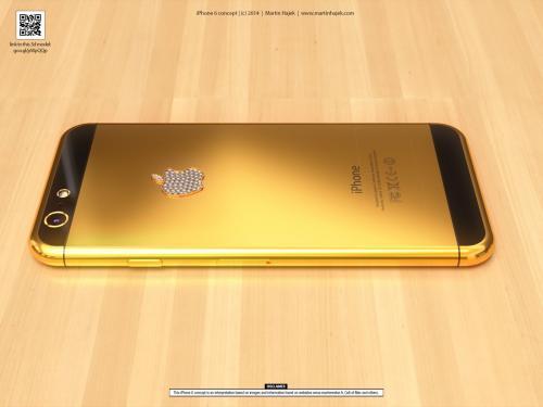 تعرف علي أغلي هاتف آيفون 6 مطلي بالذهب والبلاتينيوم ومرصع بالألماس