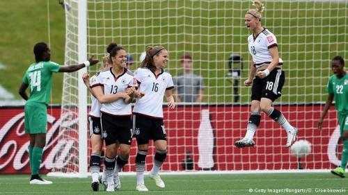 المنتخب الألماني للسيدات يسحق كوت ديفوار 10-0 في كأس العالم