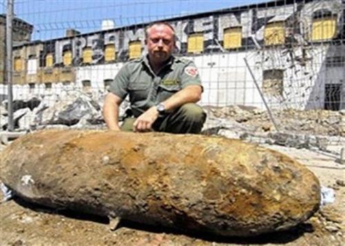 ألمانيا تقوم بإجلاء ألف السكان عقب إكتشاف قنبلة من مخلفات الحرب العالمية