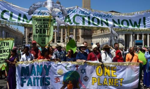 الأديان تجتمع في الفاتيكان لمواجهة التغير المناخي