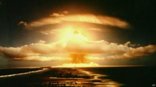روسيا تعرض نسخة من أشد قنبلة نووية في تاريخ البشرية