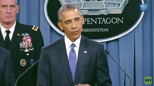 أوبامايقول إنه يدرب
