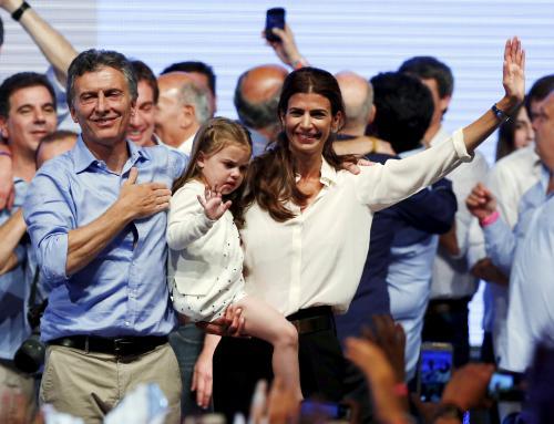 لبنانية مُسلمة تصبح السيدة الأولى للأرجنتين