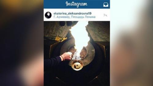 البحث عن فتاتين بتهمة تدنيس شعلة نصب الجندي المجهول