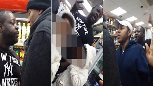 بريطانيا : رجل يهاجم منقبة ويشبهها بـ باتمان