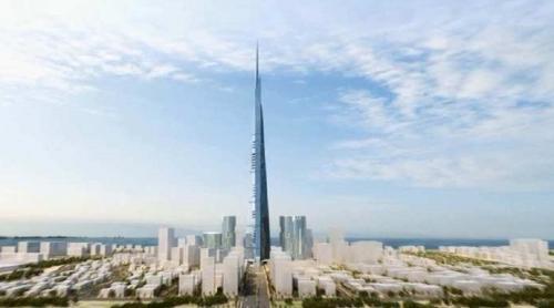 تعرف على برج المملكة في جدة أطول برج في العالم