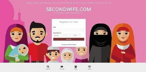 رجل يتحدى القانون الانجليزي ويطلق موقع لـ الزواج الثاني