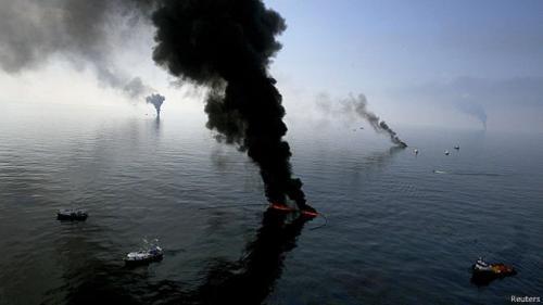 تكلفة تسرب النفط بخليج المكسيك 61.6 مليار دولار