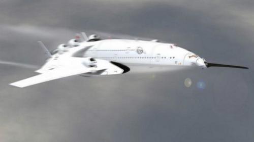 تصميم أول طائرة لنقل الركاب تعمل بالطاقة النووية