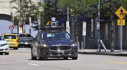 أوبر تُدخِل سيّارات ذاتية القيادة إلى الخدمة