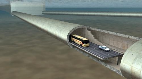 النرويج تخطّط لبناء أوّل نفقٍ عائم تحت الماء