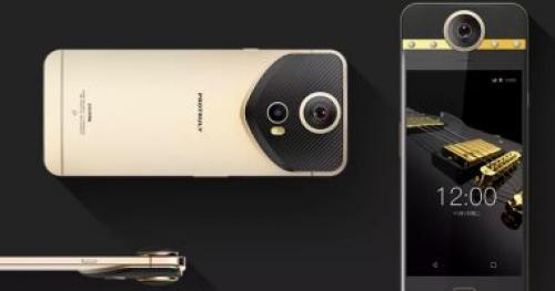 شركة صينية تطلق أول هواتفها الذكية المرصعة بالألماس