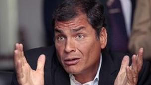 رئيس الاكوادور مستعد لاختبار كشف الكذب