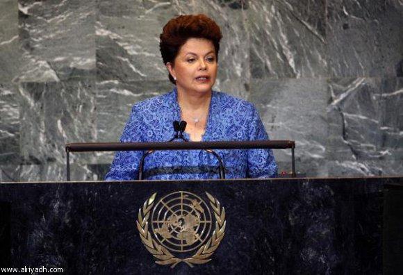 رئيسة البرازيل تقول أن