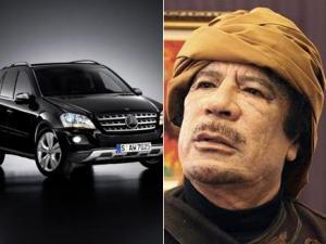القذافي يملك سيارة مصفحة من القنابل ثمنها 5.5 مليون دولار