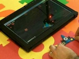 تقنية جديد تزيد المساحة التفاعلية لشاشة اللمس لست أضعاف حجمها